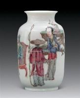 粉彩人物瓶 -  - 瓷器 杂项 - 2011春季拍卖会 -中国收藏网