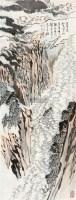 王半山诗意图 立轴 设色纸本 - 116006 - 中国书画(二) - 2011年秋季拍卖会 -收藏网