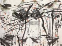 寻秋图 镜片 设色纸本 - 朱道平 - 中国书画(一) - 2011年夏季拍卖会 -收藏网
