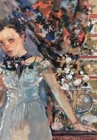 舞台春秋(四) 粉彩 纸 - 夏俊娜 - 油画雕塑II 21世纪亚洲当代艺术 - 2007秋季拍卖会 -收藏网