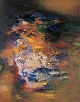 抽象 布面油彩 - 153379 - 中国油画(二) - 2006年中国艺术品春季拍卖会 -收藏网