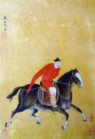 牧马图 - 尤求 - 中国书画 - 2011秋季艺术品拍卖会 -收藏网