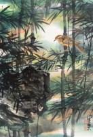幽禽 立轴 设色纸本 - 2605 - 中国书画专场 - 2011夏季艺术品拍卖会 -收藏网