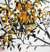 何水法 花卉 - 114874 - 中国书画 - 浙江方圆2010秋季书画拍卖会 -收藏网