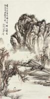山水 立轴 设色纸本 - 149180 - 中国书画一 - 2011年秋季拍卖会 -收藏网