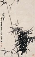清翠 挂轴 设色纸本 - 刘昌潮 - 中国当代书画 - 2007年秋季拍卖会 -中国收藏网
