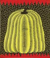 南瓜 压克力 拼贴 画布 装框 -  - 当代美术 西洋美术 - 2011秋季伊斯特香港拍卖会 -收藏网
