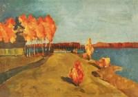 风景 布面油画 - 关紫兰 - 老油画·中国书画·新钢笔画 - 2011春季艺术品拍卖会 -收藏网