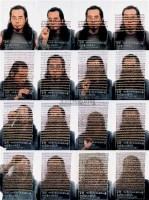 《我的形象的消失过程Ⅱ》(身份证) 照片 版数:2/5 - 金峰 - 中国油画雕塑 - 2006秋季艺术品拍卖会 -收藏网