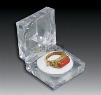 银镶红珊瑚戒指 -  - 瓷器 玉器 工艺品 - 2008春季拍卖会 -收藏网
