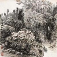 江边 立轴 纸本 - 崔振宽 - 中国书画 - 2011年春季拍卖会 -收藏网