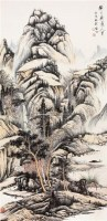 山水 立轴 - 127886 - 中国书画 - 2011年春季艺术品拍卖会 -收藏网