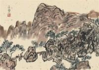 晚归图 镜片 设色纸本 - 3898 - 中国书画一 - 2011秋季艺术品拍卖会 -中国收藏网