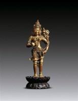 弥勒菩萨像 -  - 妙法修心(一)——佛像专场 - 2011年秋季艺术品拍卖会 -收藏网