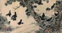 陈康侯(近现代)  花鸟 横批 - 140115 - 中国近现代书画专场 - 2007年秋季拍卖会 -收藏网