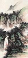 山水 立轴 纸本 - 122935 - 中国书画 - 2011中国艺术品拍卖会 -收藏网