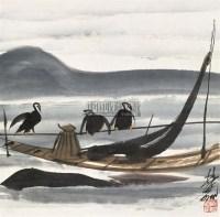 渔归 镜心 设色纸本 - 林风眠 - 中国书画(一) - 2006年春季拍卖会 -中国收藏网