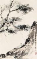 山水 立轴 纸本 - 116002 - 文物商店友情提供 - 庆二周年秋季拍卖会 -收藏网
