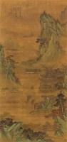 层峦耸翠 立轴 设色绢本 - 文嘉 - 中国书画 - 2011春季艺术品拍卖会(一) -收藏网