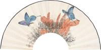 扇面 扇面 设色纸本 - 119627 - 书画专场 - 2011年夏季艺术品拍卖会 -中国收藏网