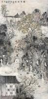 绿荫清话 镜心 设色纸本 - 高立峰 - 中国书画及杂项 - 2006秋季艺术品拍卖会 -收藏网