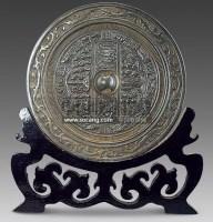 舞人文字铜镜 -  - 古董珍玩 - 2011春季艺术品拍卖会 -收藏网