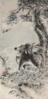 福禄寿 立轴 设色纸本 - 高其佩 - 中国书画(一) - 第17期精品拍卖会 -收藏网