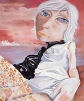 静静的远山 布面油画 - 熊宇 - 中国油画专场 - 2007年春季拍卖会 -收藏网