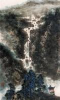 刘宝纯 庚申(1980年)作 夏山图 立轴 纸本 - 刘宝纯 - 中国书画(一) - 2006年第4期嘉德四季拍卖会 -收藏网