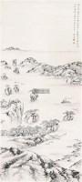 山水 立轴 纸本 - 朱家溍 - 中国书画 - 2011年秋季艺术品拍卖会 -收藏网