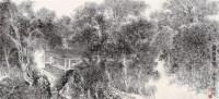 霜林玉树 镜片 水墨纸本 - 张仃 - 中国书画 - 2011年迎春拍卖会 -收藏网