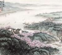 山水 镜片 纸本 - 5002 - 中国书画(一) - 2011春季艺术品拍卖会(一) -收藏网