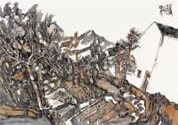 查济纪行 镜片 设色纸本 - 146357 - 澄怀万象·中国书画(一) - 澄怀万象——2011秋季艺术品拍卖会 -收藏网