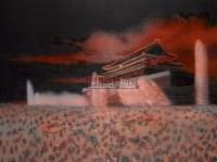 尹朝阳 2004年作 天安门 - 尹朝阳 - 中国油画雕塑 - 2006秋季拍卖会 -收藏网