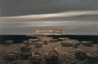 海景 布面油画 - 153441 - 中国油画 - 2005秋季大型艺术品拍卖会 -收藏网