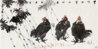花鸟 画心 设色纸本 - 129668 - 中国书画(一) - 2011秋季拍卖会 -中国收藏网