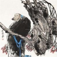 人物 镜心 设色纸本 - 范扬 - 中国书画(一)当代专场 - 2011秋季艺术品拍卖会书画专场 -收藏网