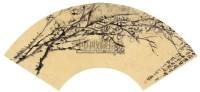梅花 泥金扇面 纸本 - 116056 - 中国书画 - 2011年春季艺术品拍卖会 -收藏网