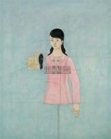 替身演员 布面综合材料 - 王亚强 - 西风东魂:油画和当代艺术专场 - 2009年秋季大型艺术品拍卖会 -收藏网