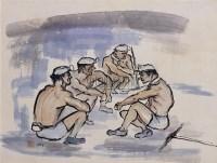 矿工(十屏选一) - 133486 - 华人当代艺术 - 2007春季拍卖会 -收藏网