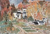 毛岱宗 塔州风景 - 毛岱宗 - 中国油画版画 - 2008迎春暨首届艺术品拍卖会 -收藏网