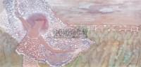 飘起的回忆 镜心 设色纸本 - 杨缨 - 青年画家精品 - 2006广东最具潜力青年画家精品拍卖会 -收藏网