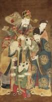 人物 立轴 绢本 - 3973 - 中国书画(一) - 庆二周年秋季拍卖会 -收藏网