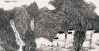 出寒图 立轴 设色纸本 - 134237 - 近现代书画 - 2007秋季中国书画名家精品拍卖会 -中国收藏网