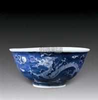 明嘉靖款景德镇窑青花龙纹碗 -  - 中国古代工艺美术 - 2007年仲夏拍卖会 -收藏网