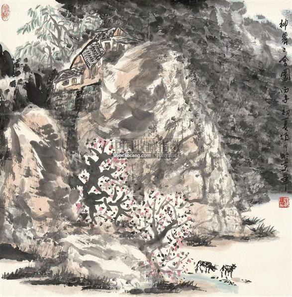 神农二舍图 镜片 - 4422 - 中国书画 - 2011年春季艺术品拍卖会 -中国收藏网
