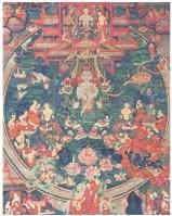弥勒菩萨唐卡 -  - 佛像唐卡 - 2007春季艺术品拍卖会 -收藏网