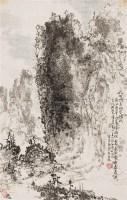 屹然特立的尔殊 立轴 设色纸本 - 8242 - 中国书画 - 2011秋季拍卖会 -中国收藏网