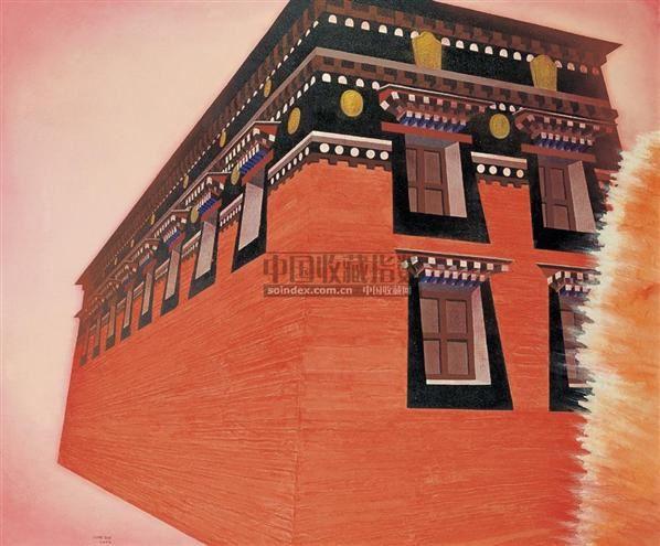 红墙2006-3 - 12967 - 油画精品 - 2006春季拍卖会 -收藏网