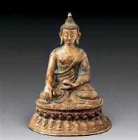 清鎏金如来铜像 -  - 中国古代工艺美术 - 2007年仲夏拍卖会 -中国收藏网